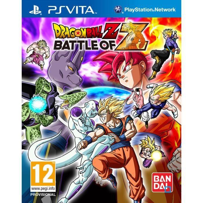 Dragon Ball Z : Battle Of Z Jeu PS Vita