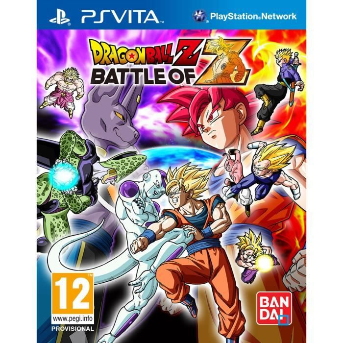 JEU PS VITA Dragon Ball Z : Battle Of Z Jeu PS Vita