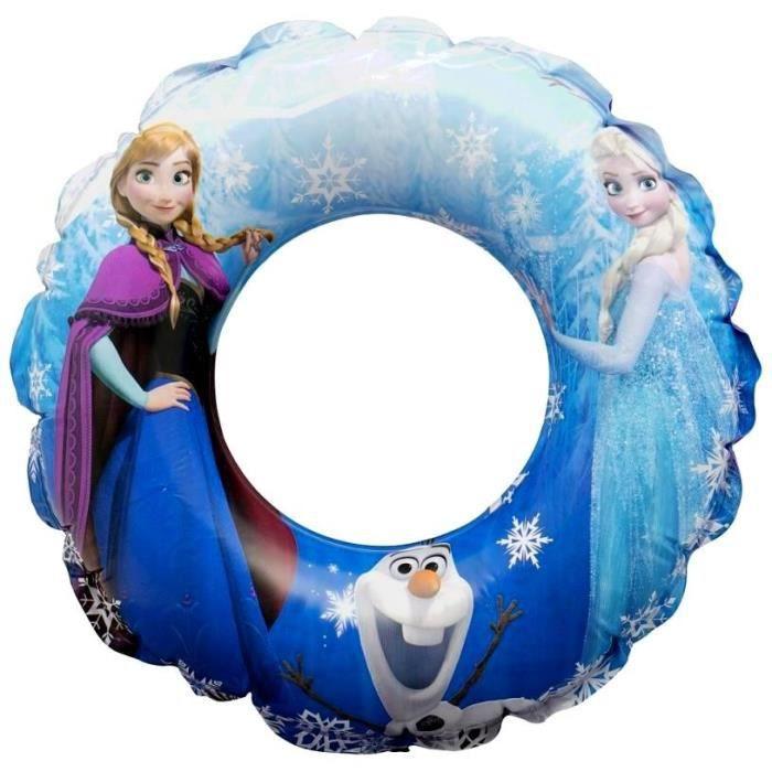 Bouée gonflable Ø 48cm Disney -Reine des Neiges- bleue - Qualité COOLMINIPRIX®