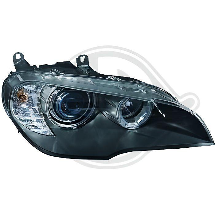 1291181 Feu phare gauche ( cote conducteur ) pour BMW X5 de type E70 LCI de 2011 a 2013 Look Origine