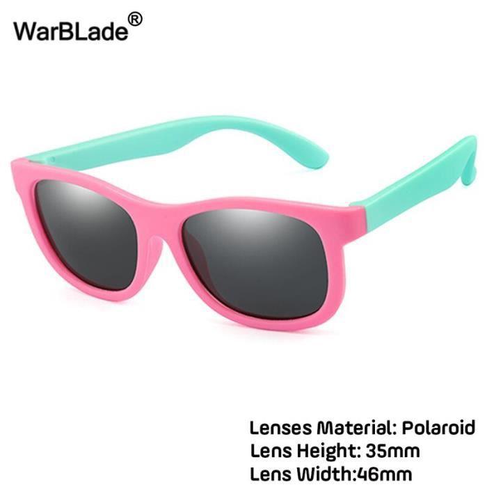 lunettes de soleil polarisées pour enfants, en Silicone, pour garçons et filles, sécurité, pour bébés, UV400, 2020 [F695915]