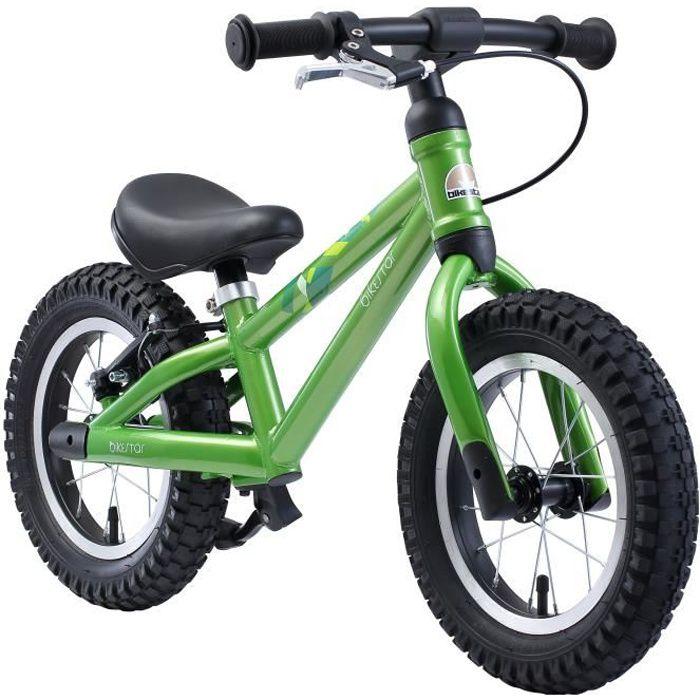 BIKESTAR - Draisienne - 12 pouces - pour enfants de 3 ans - Edition VTT - garçons et filles - Vert