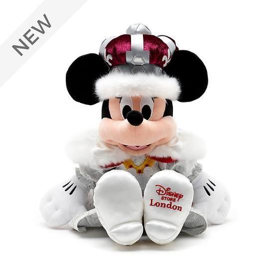 Peluche douce Disney Minnie Mouse Queen