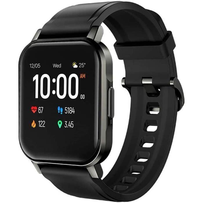 Montre Connectée,Smartwatch Bluetooth 5.0 Tracker d'Activité avec Fréquence Cardiaque Podomètre Sommeil Contrôle de la Musique Messa