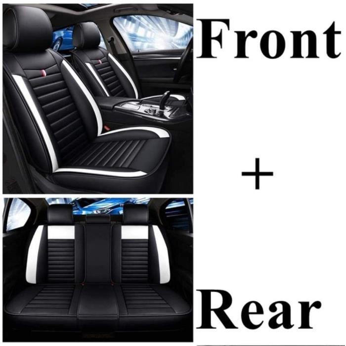 Housse de Siege Voiture Universelle pour Hyundai I30 Solaris Santafe Tucson Elantra Accent Creta Sonata I40 Ioniq Ix35 Avante Azero