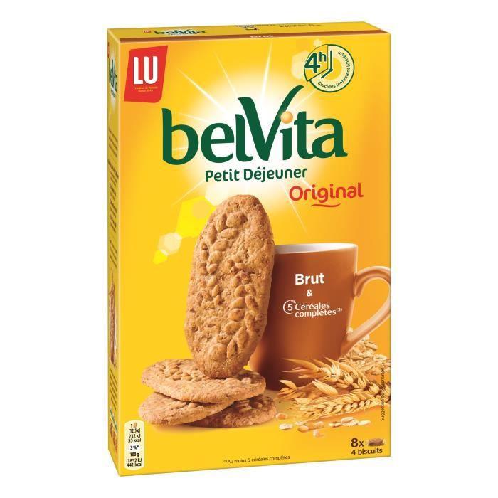 Biscuits petit-déjeuner céréales 400 g Belvita