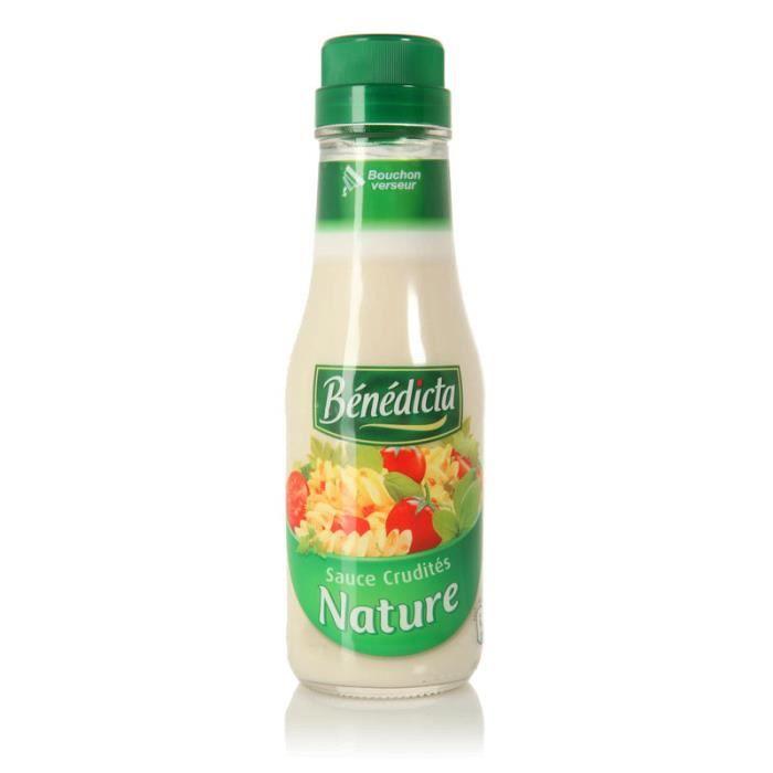 Sauce crudités nature 290 g Bénédicta