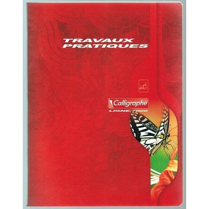 cahier Travaux Pratiques piqué 17x22, 96p séyès…