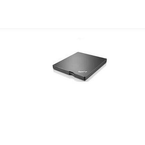 Lenovo Thinkpad Ultraslim Usb Dvd Burner, Noir, Pc de bureau Pc portable, Dvd±Rw, Usb 3.