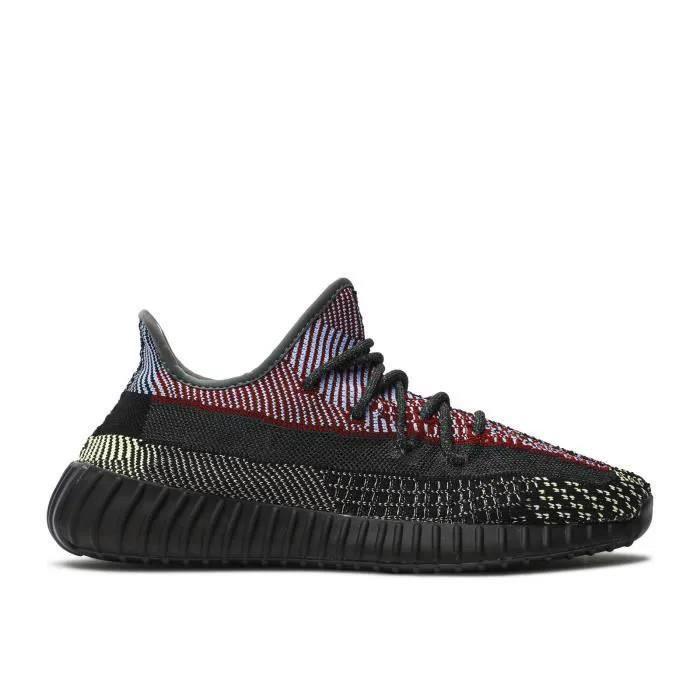 Basket Adidass Originalss BOOST 350 V2 'YECHEIL REFLECTIVE FX4145 Chaussures de Running Homme Femme Noir