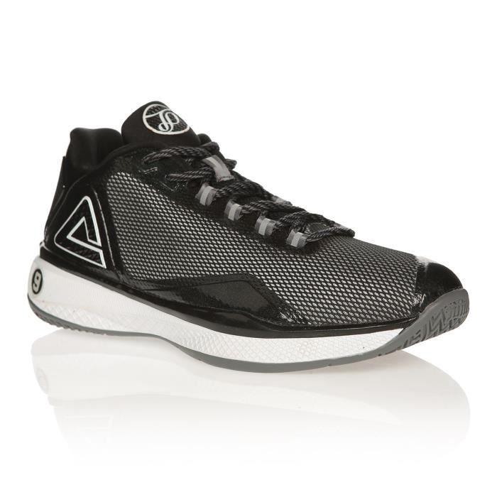 PEAK Chaussures de Basket TP4 - Noir