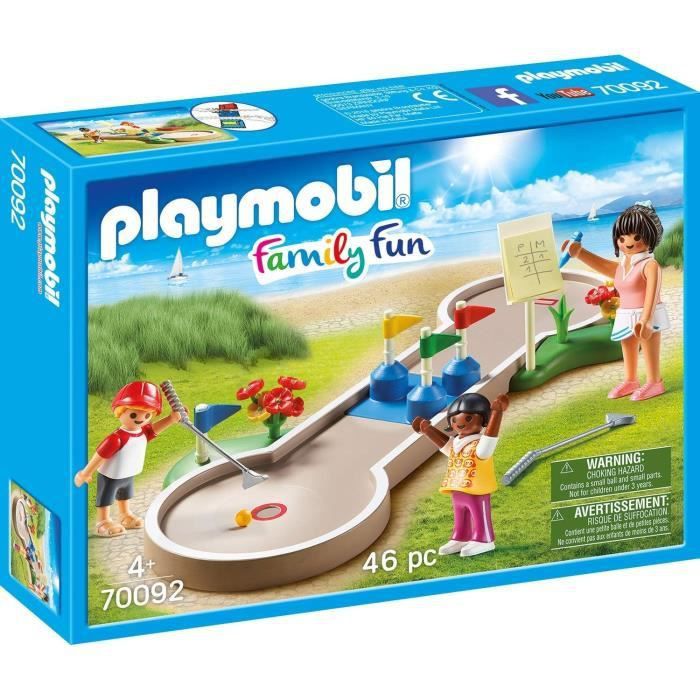 PLAYMOBIL 70092 - Family Fun Le Camping - Mini-golf