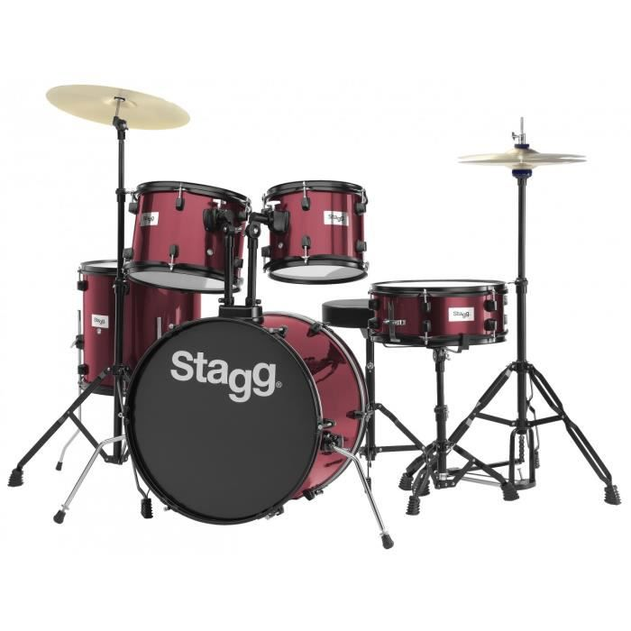 STAGG TIM120B WR Batterie Acoustique 20\