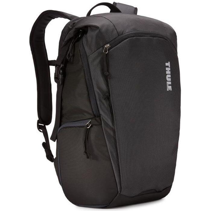 Thule EnRoute Large, Nylon, Noir, Uniforme, 39,6 cm (15.6-), Tablet Notebook DSLR, 300 mm