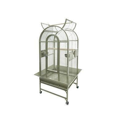 Cage perruche Myra beige 66x56x160cm