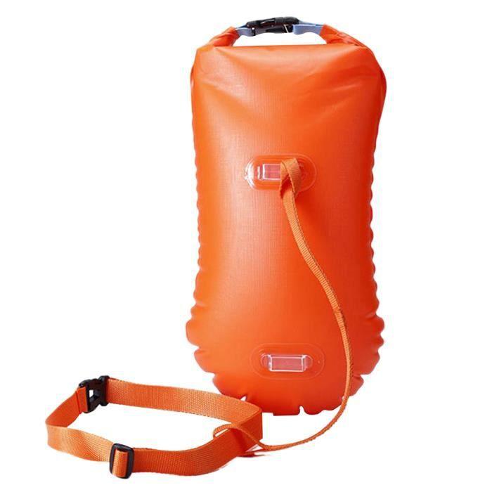 1 Pc Open Water Swim Buoy Float Ultralight Safety Light Swiming Bag for Swimmers Triathletes PISCINE COMPLETE - KIT PISCINE