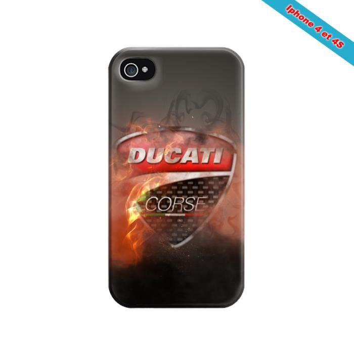 Coque iphone 4/4S Fan de Ducati Corse version démon - Cdiscount ...