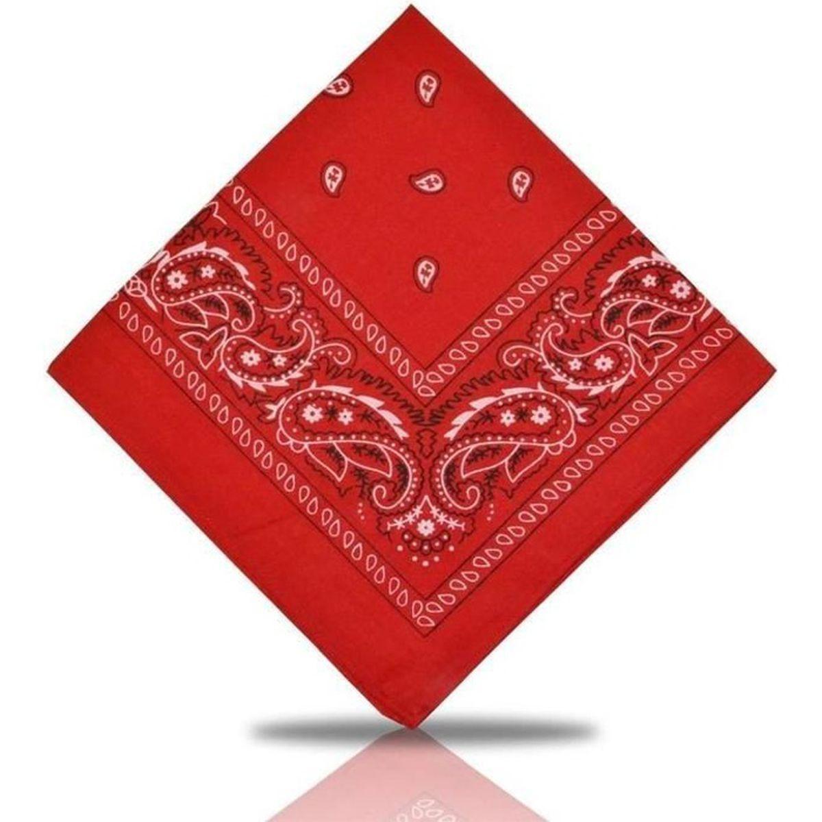 Bandana Paisley 100/% Cotton foulard neuf plusieurs coloris au choix