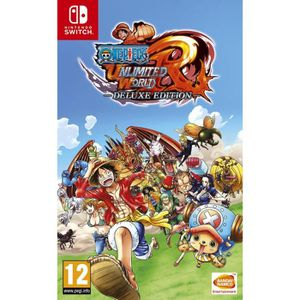 JEU NINTENDO SWITCH One Piece Unlimited World Red Edition Deluxe Jeu S