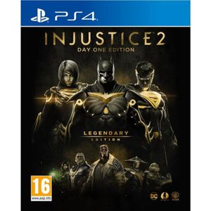 JEU PS4 Injustice 2: Legendary Edition - Day One Edition J