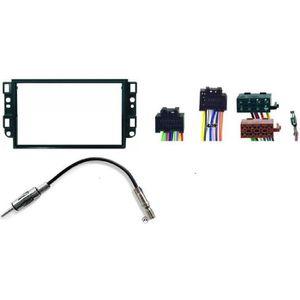 Ford Galaxy 00-06 1-din Autoradio Kit de Montage Câble Adaptateur Façade Radio Brillant