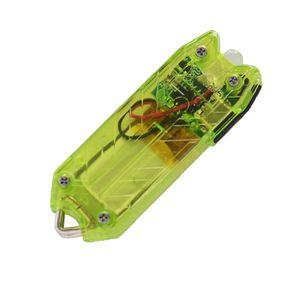 LAMPE DE POCHE 45LM 2 modes mini USB LED lampe torche porte-clés
