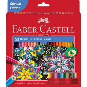 CRAYON DE COULEUR Faber-Castell Coffret de crayons de couleur, idéau