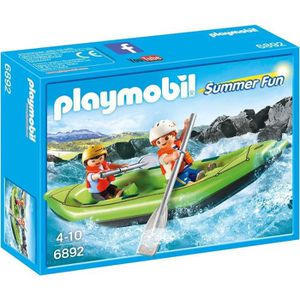 UNIVERS MINIATURE PLAYMOBIL 6892 - Summer Fun - Enfants avec Kayak P