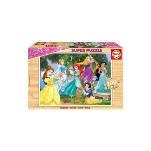 PUZZLE Puzzle Enfant En Bois - Les Princesse Disney : Rai