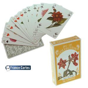 CARTES DE JEU Jeu de 55 cartes Illustrees collection luxe Les...