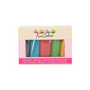 PATE A SUCRE Pâte d'amande couleurs essentielle 5x100g