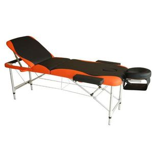 TABLE DE MASSAGE Lit/table de massage cosmetique pliable en alumini