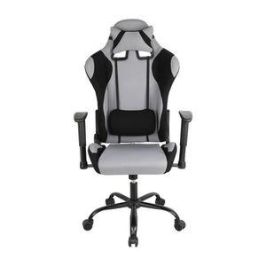 SIÈGE GAMING JEOBEST® Chaise gamer - Fauteuil de bureau - Suppo