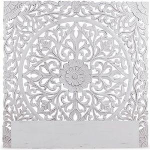 TÊTE DE LIT Tête de lit Flora 140cm Bois Blanc
