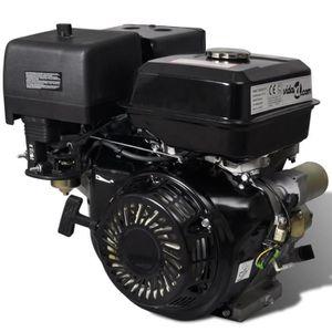 GROUPE ÉLECTROGÈNE Haute qualité Moteur à essence 15 HP 9,6 kW Noir