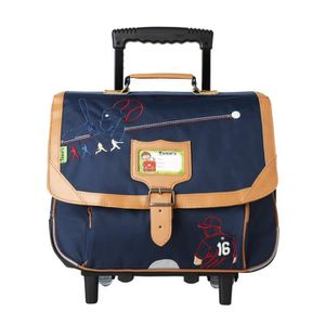 cartable baseball trolley tanns cp ce1 bleu bleu achat vente cartable 3662796047927 cdiscount. Black Bedroom Furniture Sets. Home Design Ideas