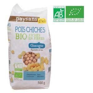 CONSERVE AUTRES LÉGUMES PAYSANS D'ICI Pois chiche - Bio - 500g