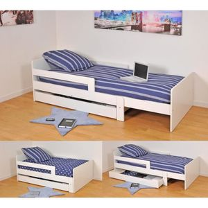 lit enfant 90 140 achat vente lit enfant 90 140 pas. Black Bedroom Furniture Sets. Home Design Ideas