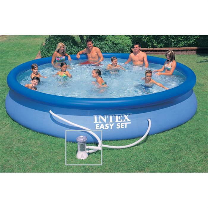 Kit piscine easy set achat vente kit piscine piscine for Piscine coque polyester soldes