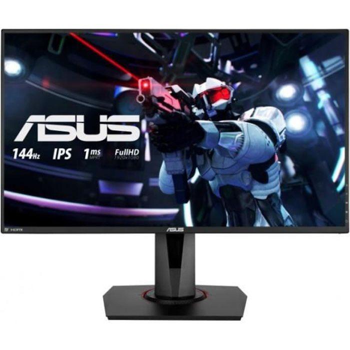 ASUS VG279Q - Écran LED - 27- - 1920 x 1080 Full HD (1080p) - HDMI, DVI-D, DisplayPort - Haut-parleurs - Noir