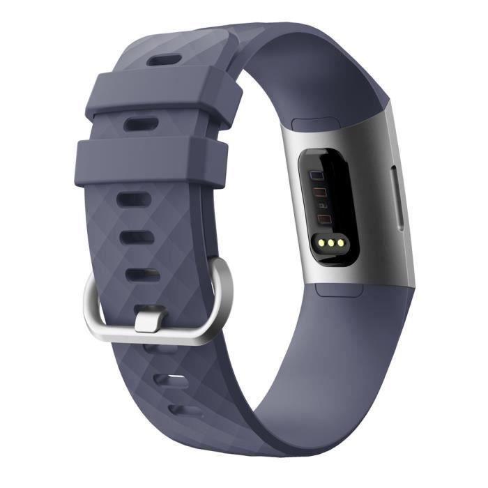 bracelet de montre vendu seul Nouvelle bande de bracelet en silicone pour sports de mode pour Fitbit Charge 3 TZZ80913666DG_non