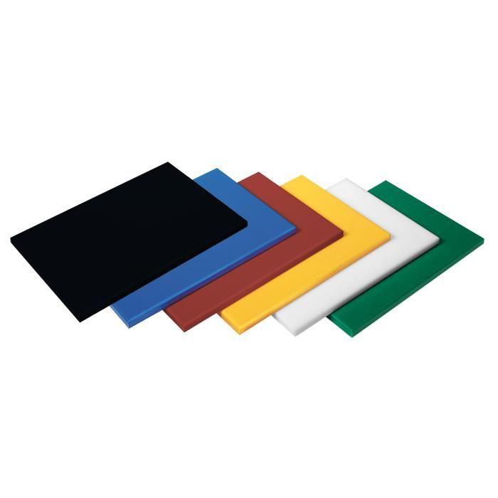 Plaque de découpe en polyéthylène avec dimensions gastronorm 1/1