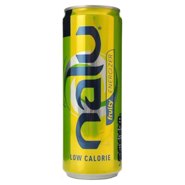 Nalu - Nalu Fruity Energizer 25cl (pack de 24)