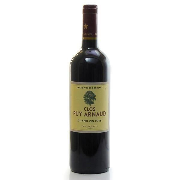 Clos Puy Arnaud AOC Castillon Côtes De Bordeaux Rouge 2015 75cl