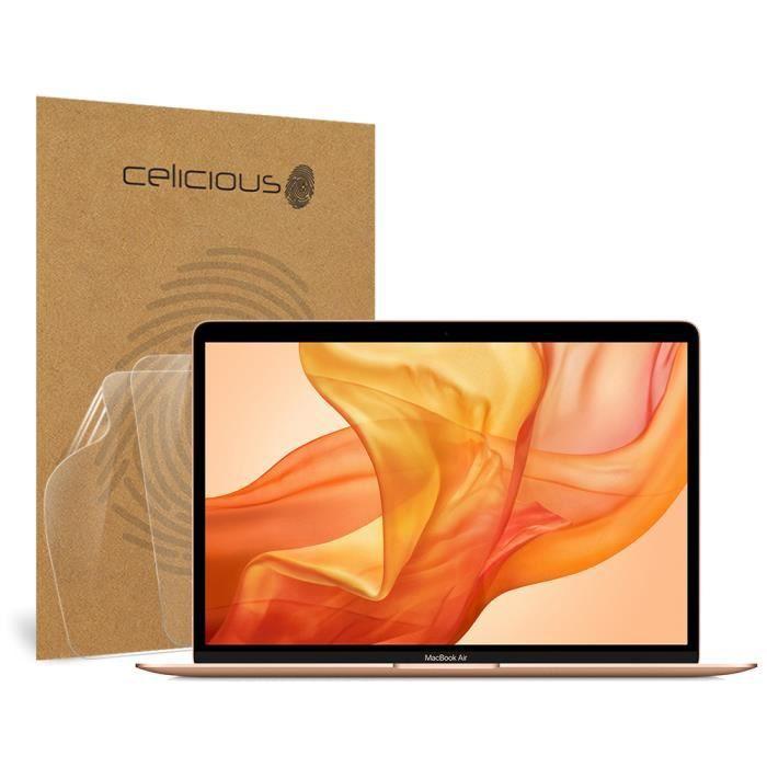 Celicious Vivid Apple Macbook Air 13.3 (2018) Protection d'écran super transparente – [Lot de 2]