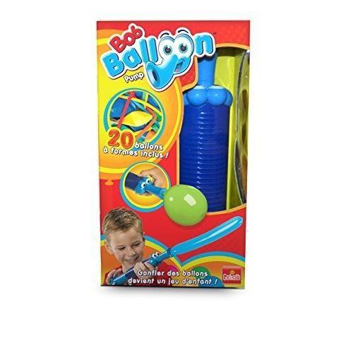 GOLIATH - 31392.006 - JEU DE BALLON - BOB BALLOON - POMPE CROCO