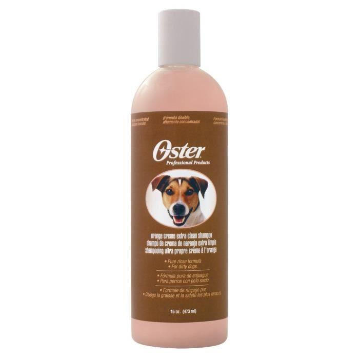 OSTER Shampooing orange crème pour chien - 473ml