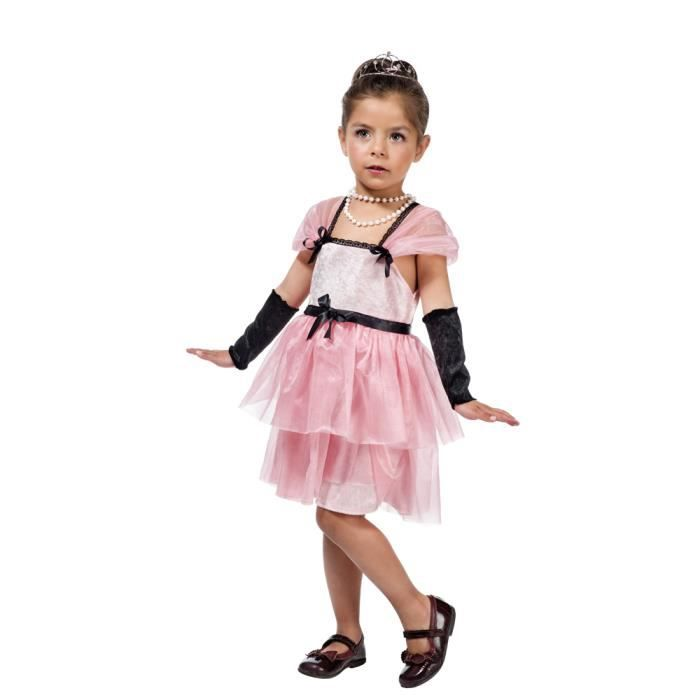 Limit Sport Film Star Holly, Fansy costume, Fille, Polyamide, Polyester, Rose, Monotone, 3 année(s)