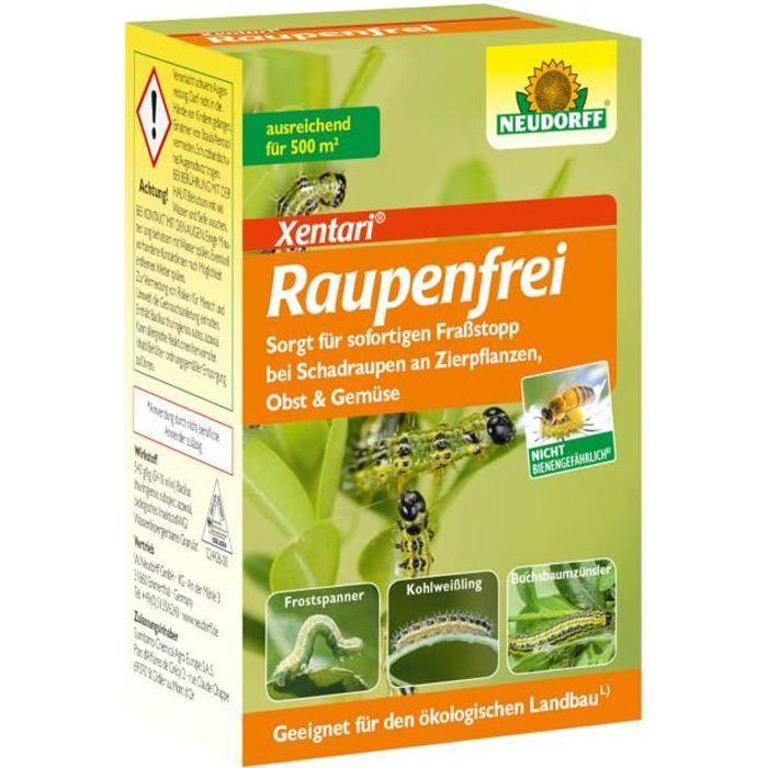 Neudorff - Chenille Libre Xentari 25g pour Buis Anti-chenilles Organismes