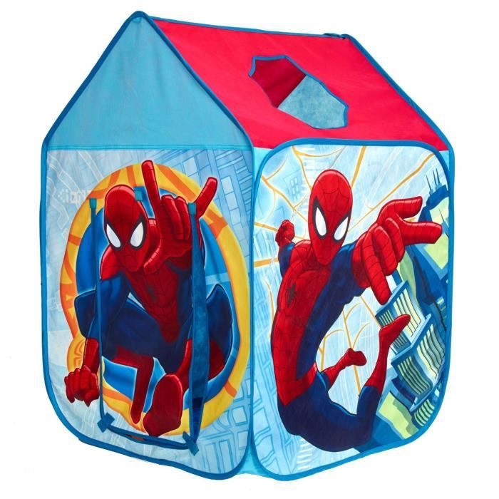 SPIDERMAN Tente de jeu maisonnette pop-up